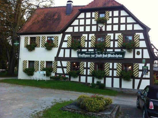 Markt Erlbach, Deutschland: Zur Stadt Bad Windsheim
