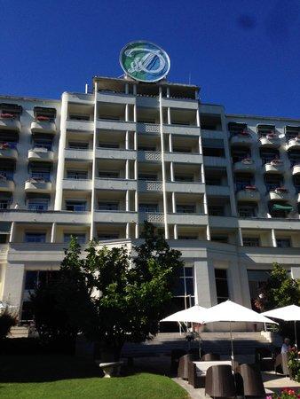 Domaine de Divonne : Собственно, и сам отель.