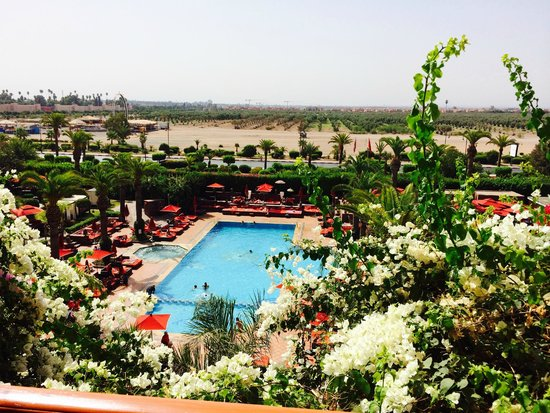 Sofitel Marrakech Palais Imperial: Vue de notre suite junior!