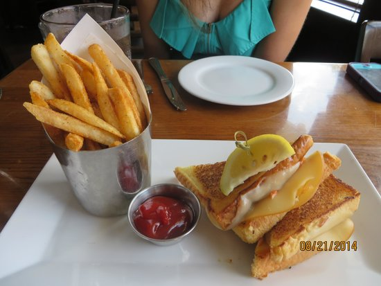 Lobster Grilled Cheese Sandwich - Picture of Fulton's Crab House ...