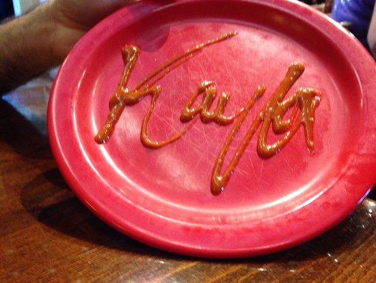 Nordy's Bar-B-Que & Grill : Cute touch!