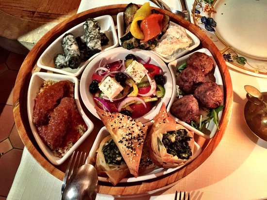 Restaurant grec Le Bouzouki : Le Metze, à partager à deux