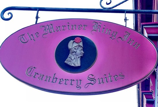 Mariner King Inn: The Mariner King. Lunenburg, Nova Scotia, Canada. Photo by Terry Hunefeld.