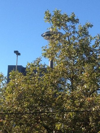 The Maxwell Hotel - A Staypineapple Hotel : Space Needle from our room