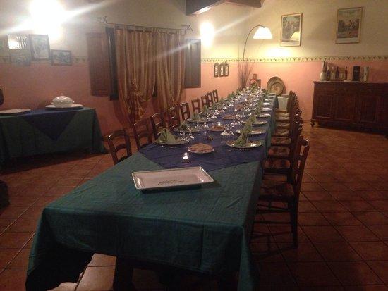 Mandra Edera Country Hotel: The Dinner
