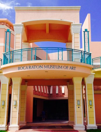 Boca Raton Museum of Art: Entrance