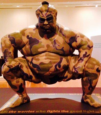 Boca Raton Museum of Art: Warrior