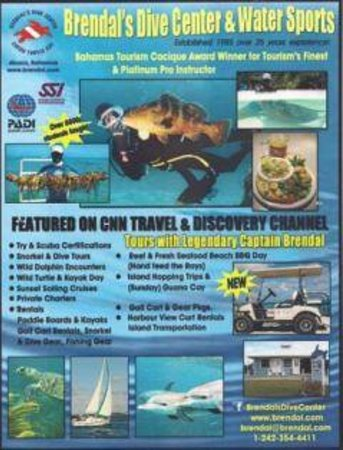 Brendals Dive Center & Water Sports: Estb since 1985 !