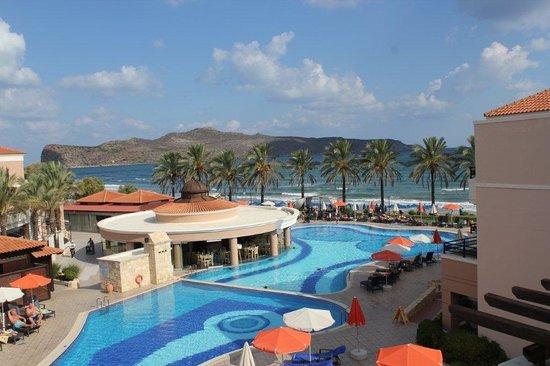 Alexandra Beach Resort: Från balkongen