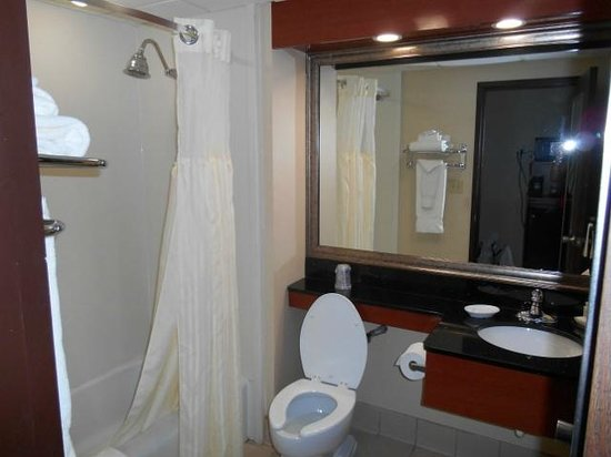 Best Western Plus Augusta Civic Center Inn: Bad/Toilette