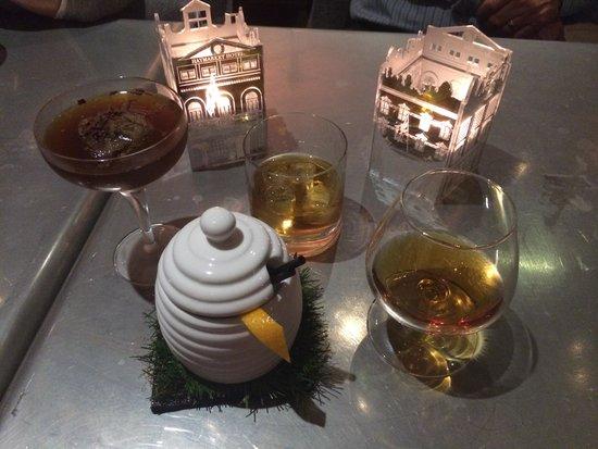 Brumus - Haymarket Hotel : Yummy cocktails