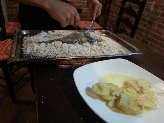 Casa Carmelo Tapas & Sevillian Gastronomy: Salt baked sea bass