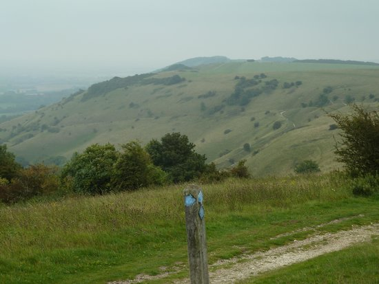 Ditchling Beacon: The view