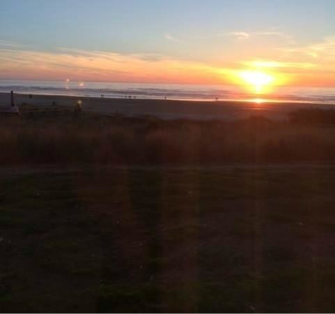 Driftwood Shores Resort & Conference Center : Taken at sunset from our room!