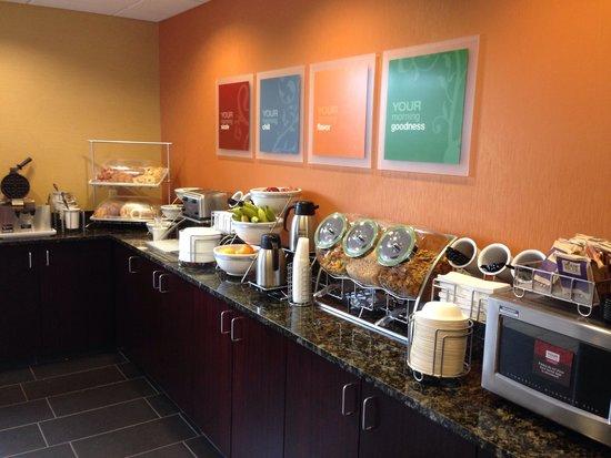 Comfort Inn & Suites: good quality