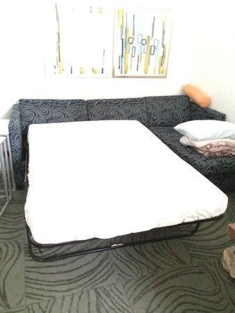 SpringHill Suites Alexandria Old Town/Southwest : Pull out couch