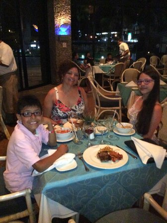 Restaurante Argentino en el hotel Cid Moro