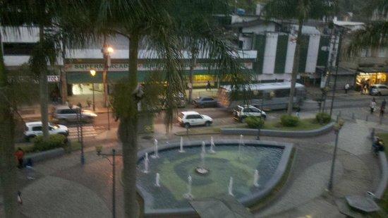 Hotel Grao Para: Vista da praça Inconfidencia, do 2° andar do hotel