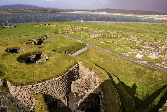 Jarlshof Prehistoric and Norse Settlement: Jarlshof site