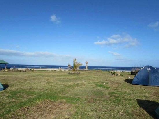 Camping Mihinoa: Vista desde la habitacion