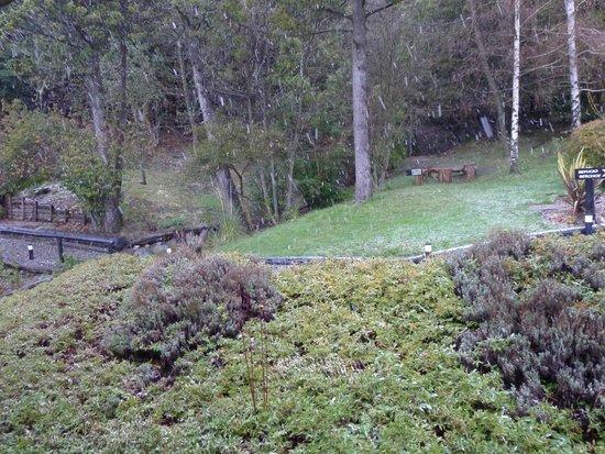 Aldea Andina: Jardín trasero
