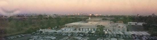 DoubleTree by Hilton Hotel Newark Airport: View From 737