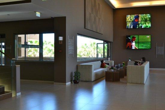 São Rafael Atlântico: Hall do hotel