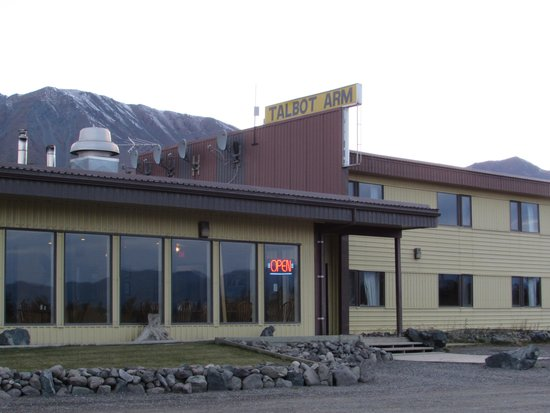 Talbot Arm Motel : Nothing fancy but a good stay