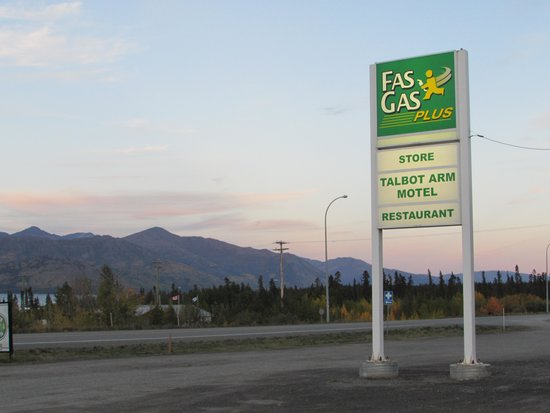 Talbot Arm Motel : Gas...food...lodging...gift shop - everything you need!