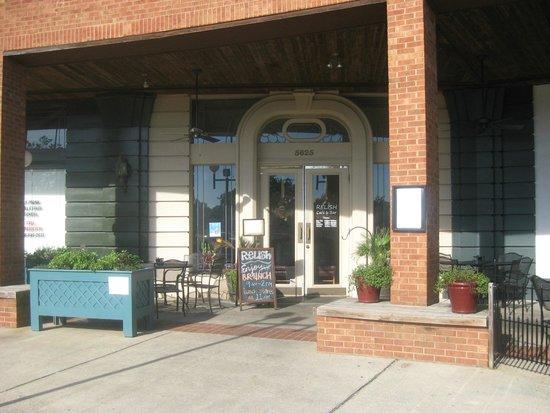 Relish Craft Kitchen Bourbon Bar