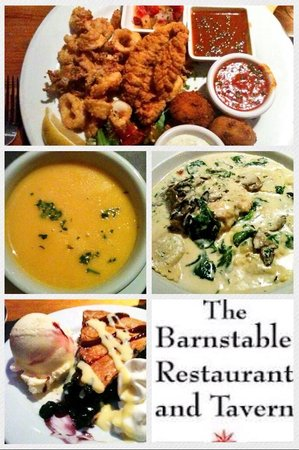 The Barnstable Restaurant and Tavern: My meal tweet