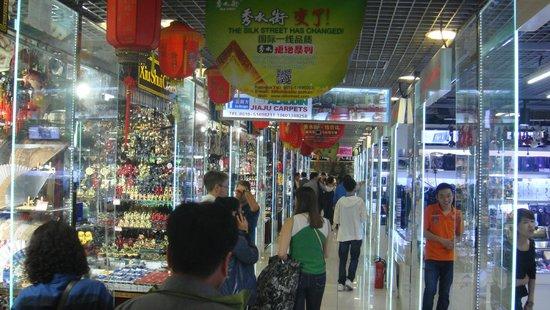 New Silk Alley Market (Xiu Shui): Silk street