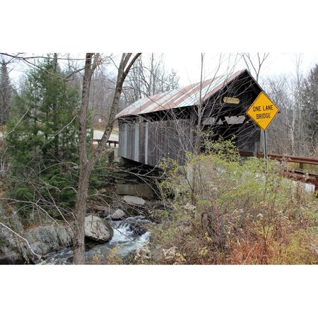Gold Brook Covered Bridge (Emily's Covered Bridge): Beware!