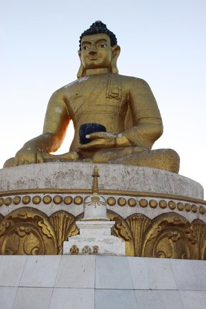 Darhan, Mongolei: The Seated Buddha.