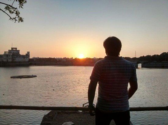 Lakhota Talav : Sunset is nice