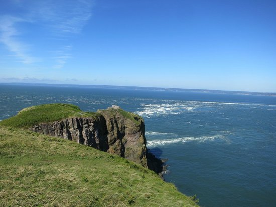 Cape Split Hiking Trail: View from the end