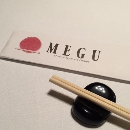 Megu: The Menu - elegance and simplicity