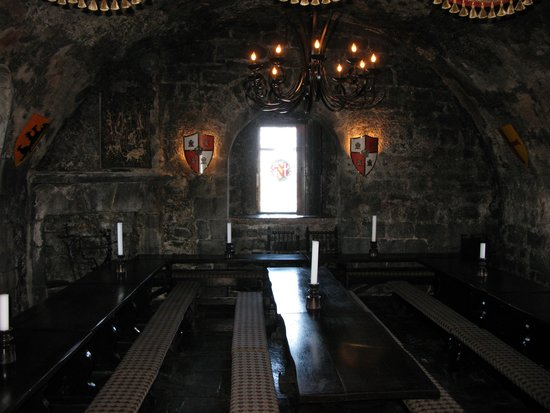 Dunguaire Castle's Medieval Banquet: Dining Room