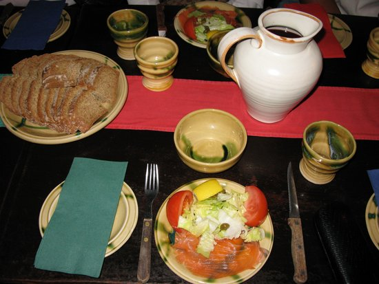 Dunguaire Castle's Medieval Banquet: First Course