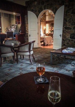 Poplar Springs Inn & Spa: Lunch at the bar
