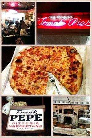 Frank Pepe Pizzeria Napoletana: Meal