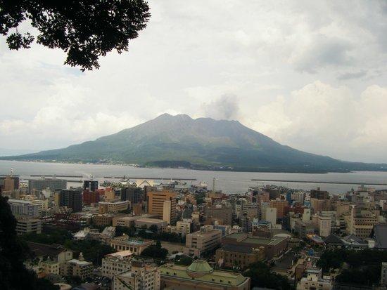 Mt. Shiroyama: Sakurajima