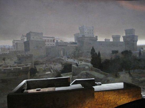 Jerusalem Panorama: panorama museum