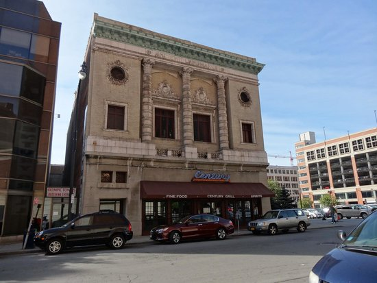 Century Grill in an old Masonic Temple