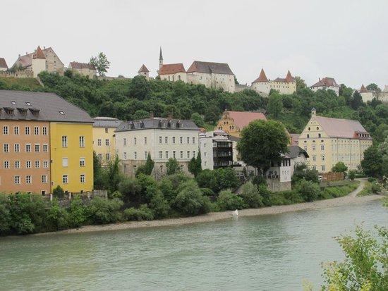 Burg zu Burghausen: il complesso della cittadella fortificata che domina la cittadina
