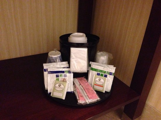 Holiday Inn Express Hotel Suites Grants Milan The In Room Coffee And