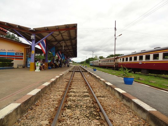 Thai-Burma Railway (Death Railway): Kanchanaburi Station
