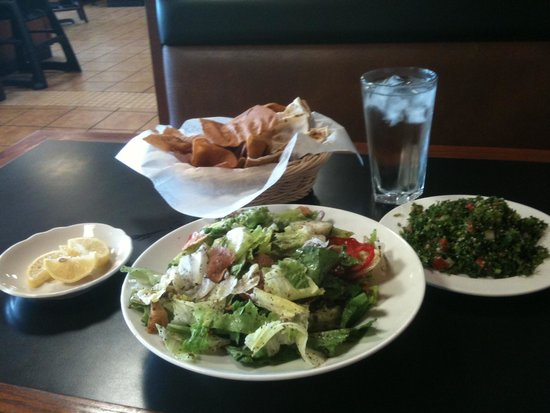 Photo of Middle Eastern Restaurant N & J Cafe & Bakery at 5600 E Lincoln St, Wichita, KS 67218, United States