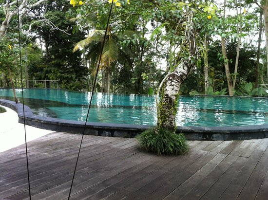 Pandawas Villas: View of poll form our deck