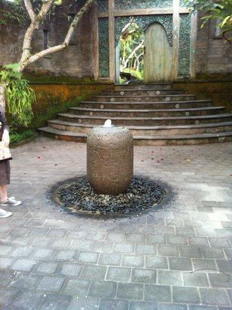 Pandawas Villas: Entrance to Pandewas